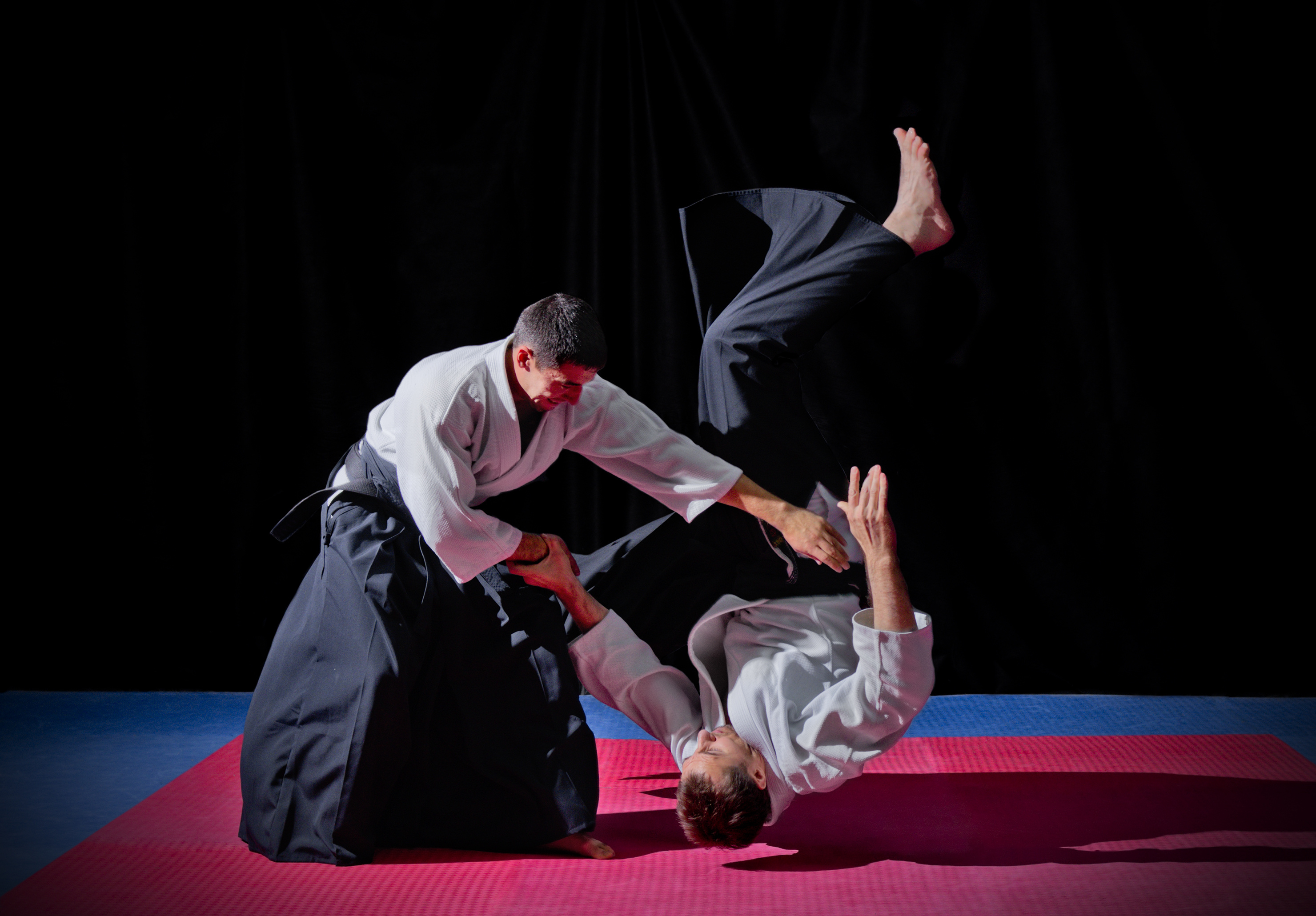 two aikido practitioners